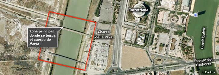 Desaparece una menor la noche del sabado en Sevilla Mapa-busqueda-marta