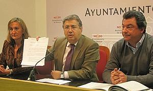 Zoido: «No queremos proetarras en Sevilla, no queremos pagarles con nuestro dinero»