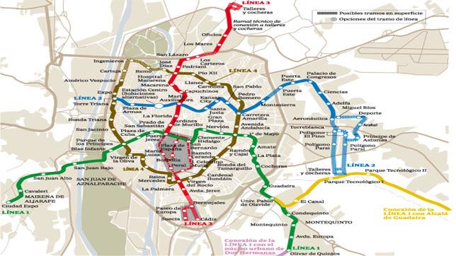 Vecinos y partidos ponen en entredicho la red de Metro de la Junta