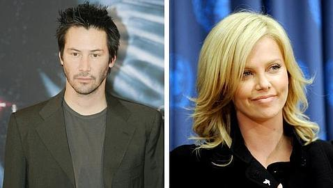 charlize theron and keanu reeves 2011. Charlize Theron y Keanu Reeves