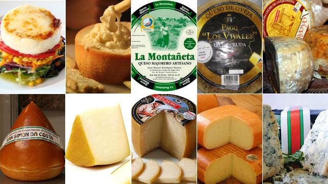 Los diez mejores quesos españoles