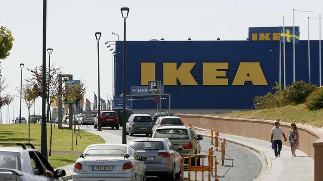 Foto de los accesos a ikea en castilleja de la cuesta - Ikea de sevilla ...