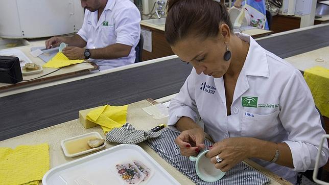 La primera vajilla de la cartuja en septiembre for Vajilla la cartuja