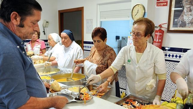 Los comedores sociales, imprescindibles para los necesitados ...