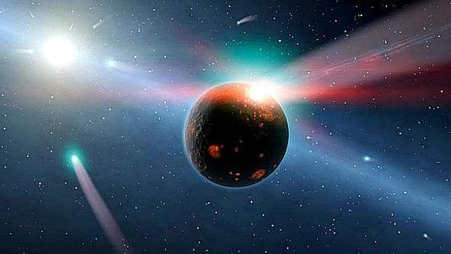 Detectan un «bombardeo de cometas» en otro sistema solar