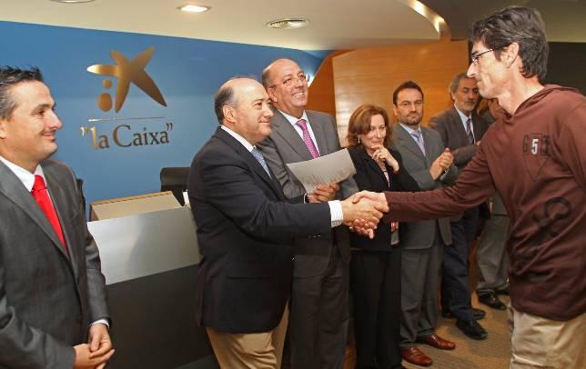 La caixa ofrece cursos a 375 presos andaluces para for Buscador oficinas la caixa