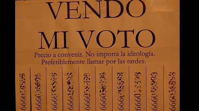 «Vendo mi voto por 100 euros»