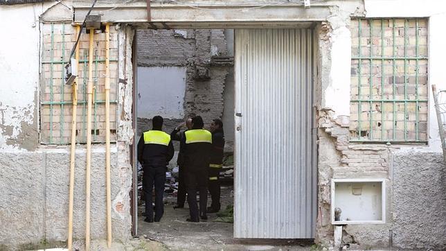 Extinguido un conato de incendio en un edificio abandonado del casco antiguo