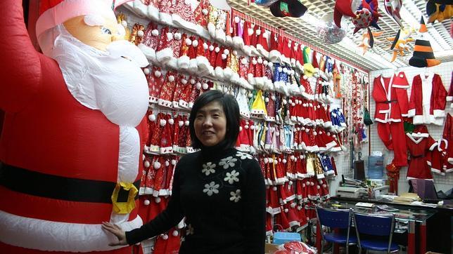 La navidad viene de china for Productos de navidad