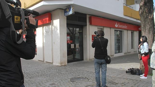 Se reduce el n mero de atracos a bancos de 14 a 3 en un for Sucursales banco espana