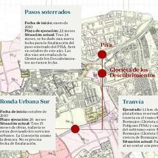 La junta se atasca entre el tranv a y la ronda urbana sur for Cocina urbana canaria
