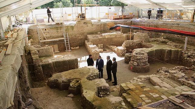 Una cripta mostrará restos de la Edad de Hierro bajo el Patio de Banderas
