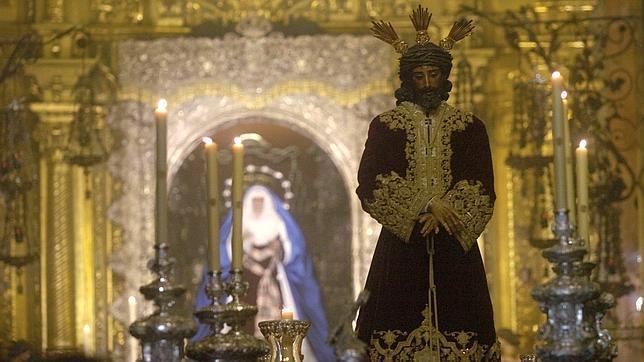 El Señor de la Sentencia preside hoy el via crucis de la Macarena
