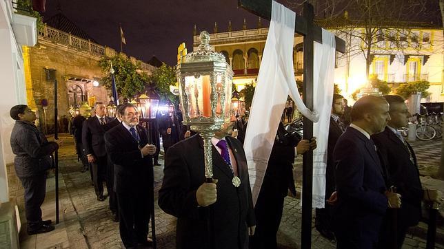 Monseñor Asenjo, en el via crucis de la Pía Unión