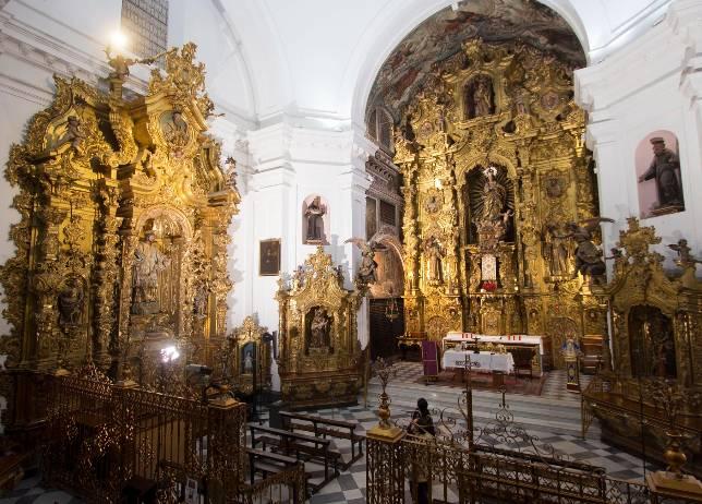 Santa Rosalía, un convento cofradiero