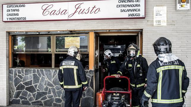 Incendio sin consecuencias en un bar de Ronda de Triana