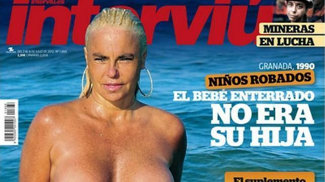 Leticia Sabater Se Desnuda En Interviú Abcdesevillaes