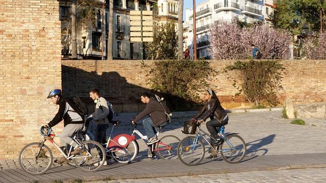 70.000 sevillanos usan la bicicleta