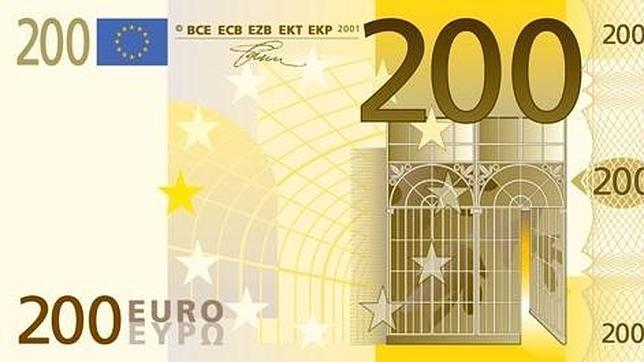 Billete 200 Euros Real Madrid Melilla