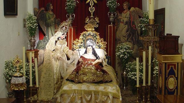 Clara de Asís hace estampa de su tránsito en Santa Rosalía