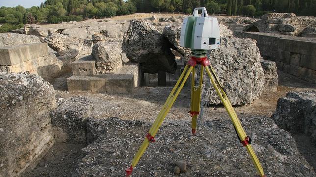 Itálica digitaliza en 3D su anfiteatro para documentar su patrimonio histórico