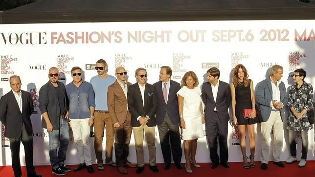 Las «celebrities» celebran la Vogue Fashion Night Out