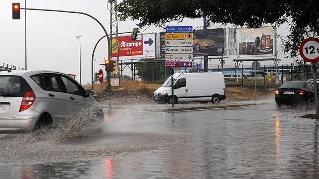 Agua de lluvia recogida en sevilla