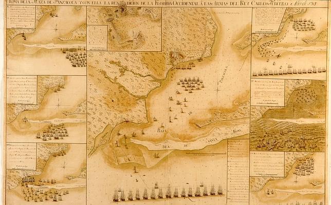 Gálvez: el marino español que se aventuró «solo» contra las defensas inglesas de Florida