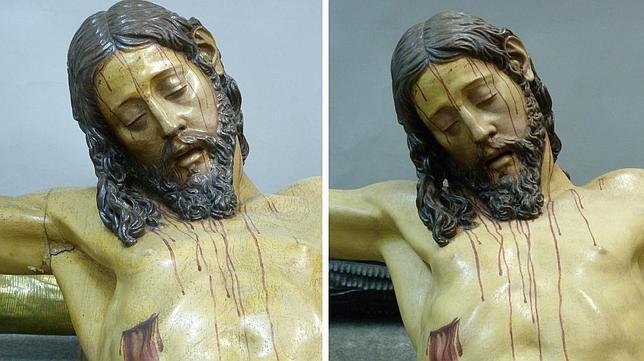 El Cristo de la Vera Cruz regresa al pasado