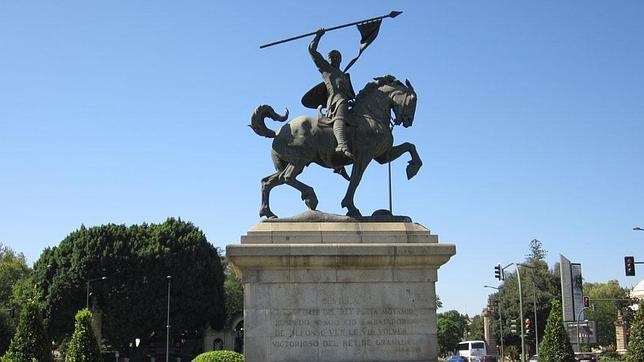 El Cid y Babieca, casi listos para la batalla