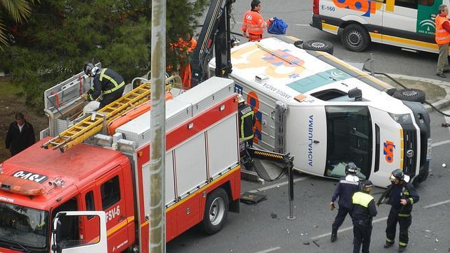 Fotos de ambulancias en accidentes 60