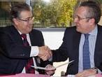 Zoido y Telvent, de la mano hacia un «cambio de modelo productivo» en Sevilla