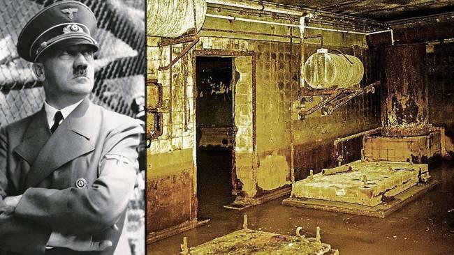 «Bild» publica fotos inéditas del búnker de Hitler tomadas en tiempos de la RDA