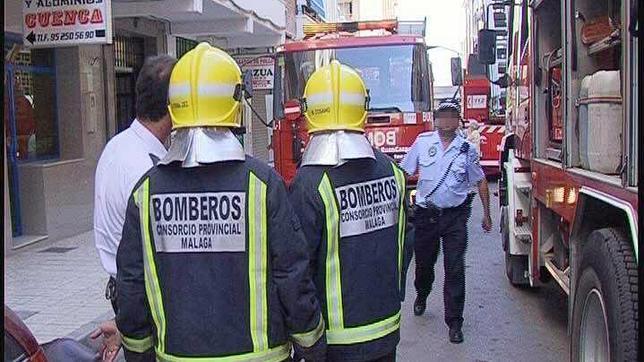 Resultado de imagen de bomberos de malaga
