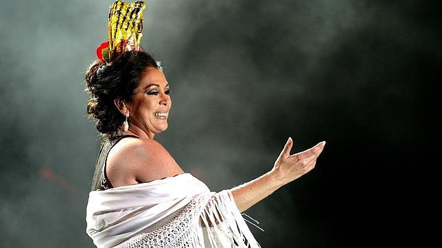 La cantante sevillana Isabel Pantoja