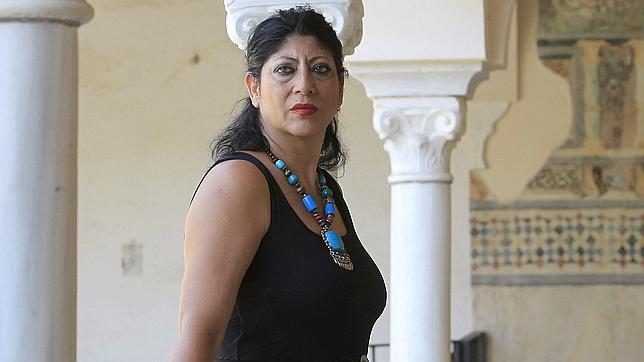 La bailaora Manuela Carrasco, nacida en el barrio sevillano de Triana