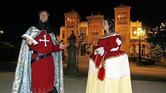 Sevilla cuenta su historia en el Parque de María Luisa