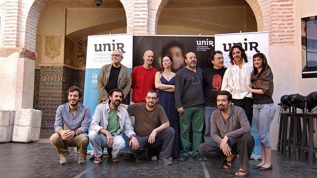 Antonio Cuadri rueda en Santiponce una película sobre Tomás Moro