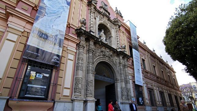 Fachada exterior del Museo de Bellas Artes
