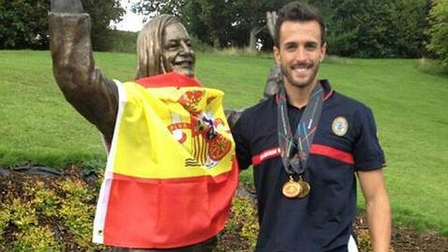 Un bombero mairenero logra dos medallas en la competición World and Fire 2013