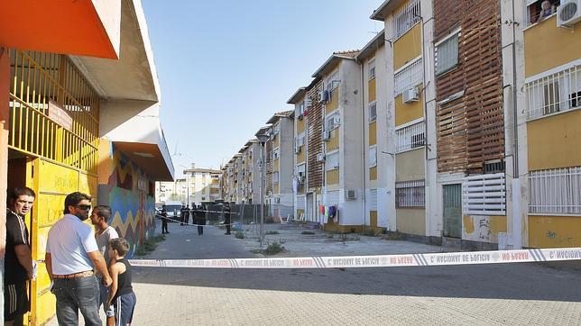 La vivienda asaltada de Los Perla está en el Polígono Sur