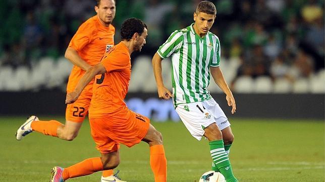 Salva Sevilla ha jugado su primer encuentro como titular esta temporada