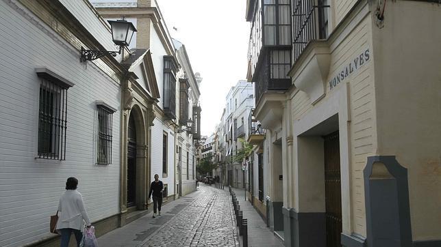 Aspecto actual de la calle Monsalves