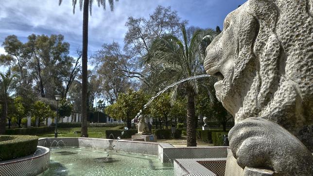 Una vista del parque de María Luisa