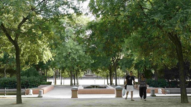 Cernuda se refiere al prado de San Sebastián como «el campo»