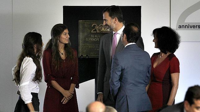 El Príncipe de Asturias respalda la apuesta por la innovación de AGQ Labs en su vigésimo aniversario