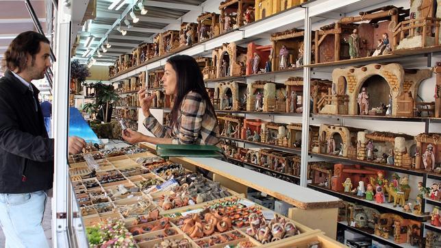 La Feria del Belén de Sevilla abre sus puertas este sábado junto a la Catedral