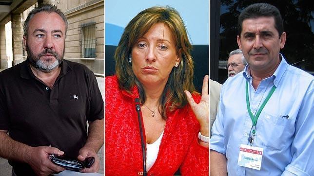 El mapa de la corrupción en Andalucía salpica a 171 alcaldes y exalcaldes socialistas