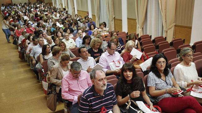 Encuentro en Córdoba de profesores de Religión con el obispo