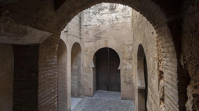 Patio interior de la Torre